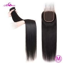 עלי קוקו הודי ישר שיער חבילות עם סגירת 30 אינץ 32 34 36 38 ארוך שיער טבעי חבילות עם סגירת 100% רמי שיער