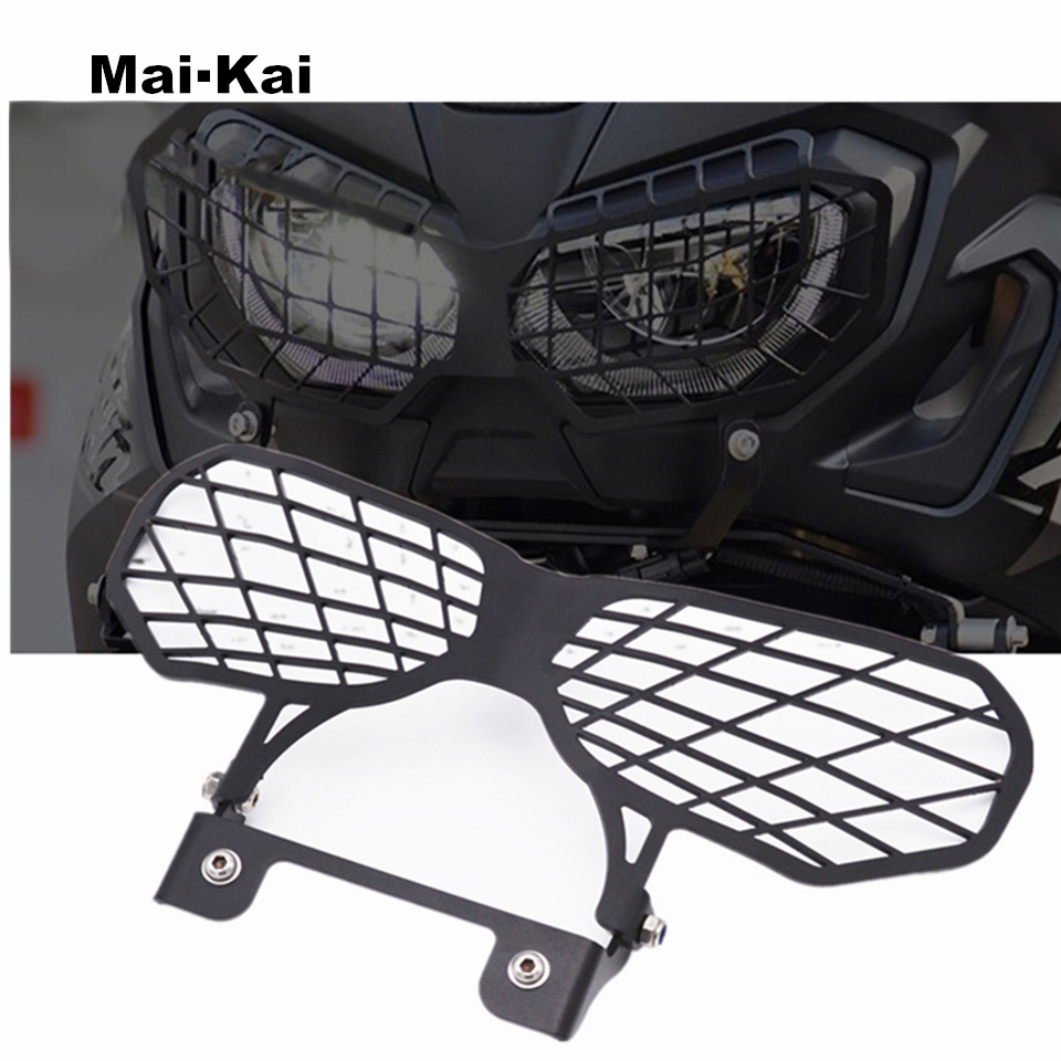MAIKAI For HONDA CRF1000L Africa Twins 2017-2019 Motorcycle Accessories Headlight Lens Guard Protector Protection