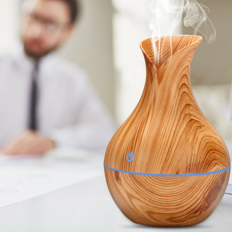 Creative Appearance USB LED Ultrasonic Aroma Humidifier Essential Oil Diffuser ABS PP Exquisite Aroma therapy Purifier new 2