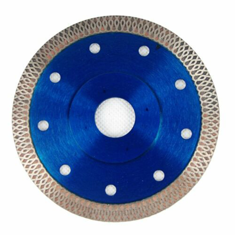 Blue Porcelain Tile Turbo Thin Diamond Cutting Blade Disc Grinder Wheel 1 Pieces