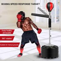 Boxing Professional Boxing Bag Heavy Stand Punching Bag With 360 Degree Reflex Bar Fitness Boxing Equipment
