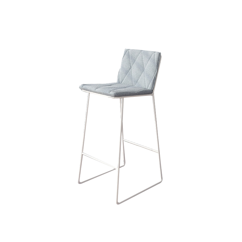 Nordic Bar Chair Home Modern Simple Back Bar Stool Bar Stool Bar Chair Light Luxury American Bar Stool
