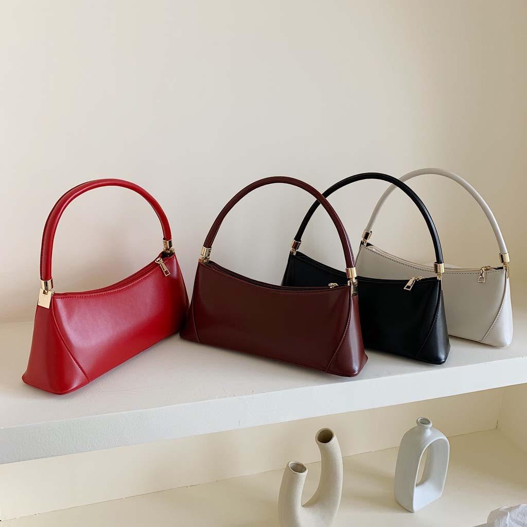 luxury handbags bags woman designer 2019 New Handbags Casual Solid Shoulder Tote Bag Coin Purse Bags For Women solid torebki