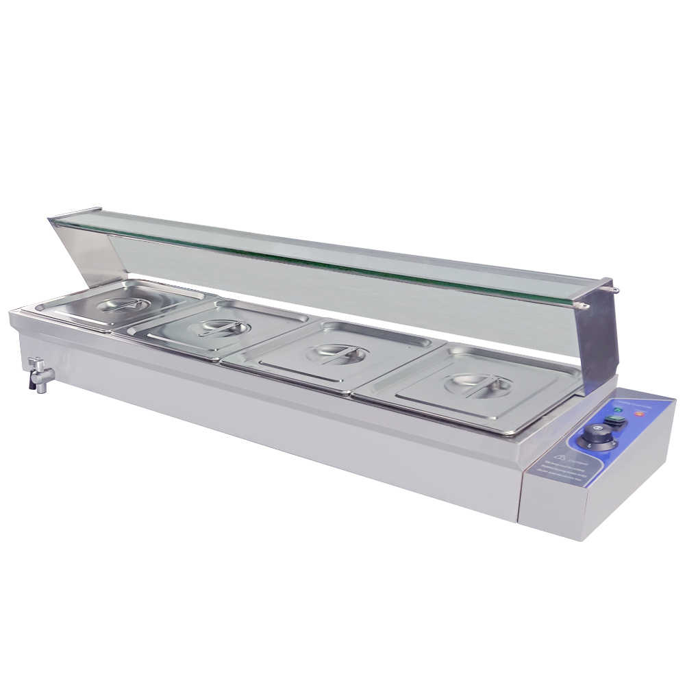 Restaurant Hotel Bain Marie Food Warmer Commercial Electric Fast Food Warming Container Catering Equipment Aliexpress