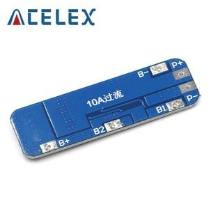 Image 5 - 3s 10A 12vリチウム電池充電器保護3個18650リチウムイオン電池携帯充電用bms 11.1v 12.6v