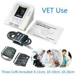 Eletrônico sphygmomanômetro digital monitor de pressão arterial animais de estimação veterinários cão gato