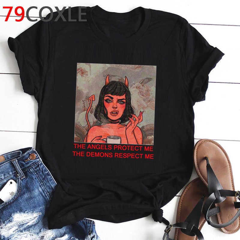 Horror (t Shirt uomo Demon Death spaventoso Male satanismo Grim Reaper Baphomet T-shirt satanista Tshirt Streetwear Top tees uomo