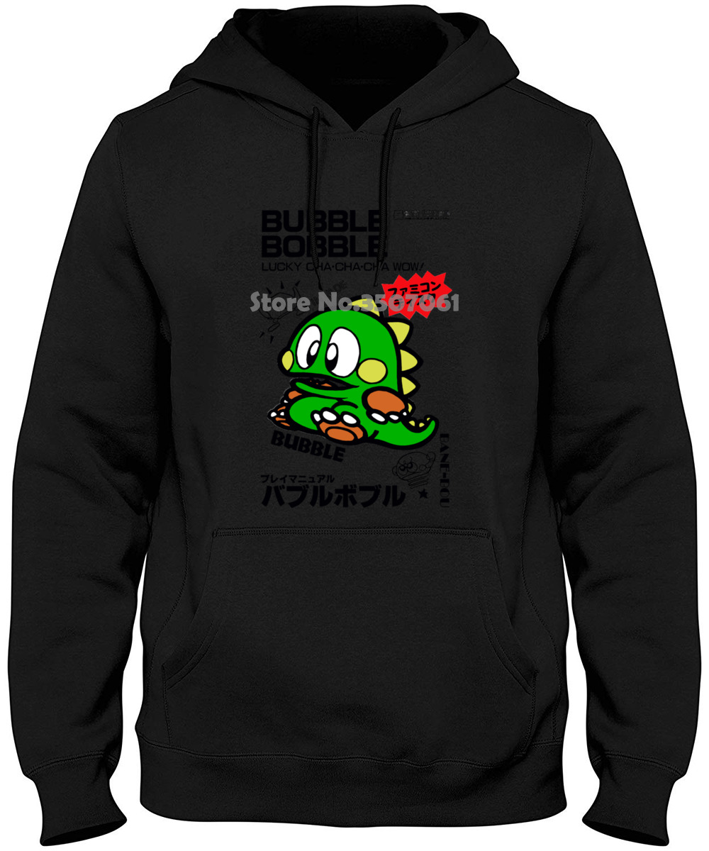 Commodore C64 Amiga Game Gamer Gaming Bubble Bobble Cult Vintage Retro Mens Couple Casual O-neck Hoodies & Sweatshirts image
