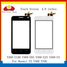 10Pcs/lot Touch Screen For Huawei Y360 Panel Sensor Digitizer Y336 Y3 Y360-CL00 Y360-U03 Y360-U23