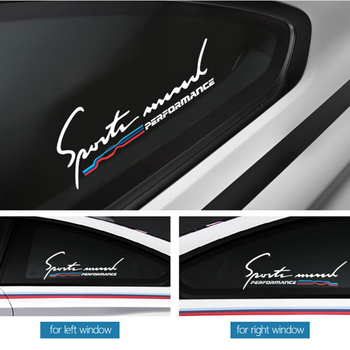2pcs Car side window M performance glass sticker For bmw M Sticker X1 X3 X4 X5 X6 X7 e46 e90 f20 e60 e39 f10 F30 Car accessories kalaisike custom car floor mats for bmw all model x3 x1 x4 x5 x6 z4 525 520 f30 f10 e46 e90 e60 e39 e84 e83 car styling