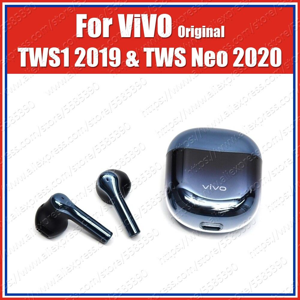 14.2mm Dynamic Original ViVO TWS Neo Earphone Earbuds IP54 Wireless Bluetooth Headset X30 Pro Iqoo 3 Neo Pro Nex 3 U3x Z5x V17