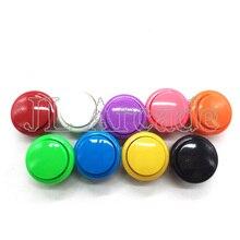 10 Uds. Arcade 30mm botón redondo copia SANWA OBSF-30 botón JAMAE MAME DIY partes