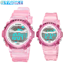 SYNOKE Kids Watch Large & Small Sizes Sport Running Watches
