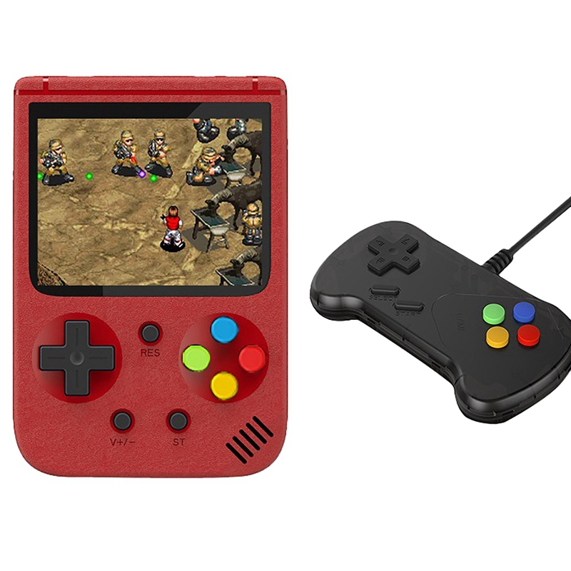 JP03 Handheld Game Console Mini Portable Two-Player Battle Against 500 Classic Games 3-Inch Screen Game Console