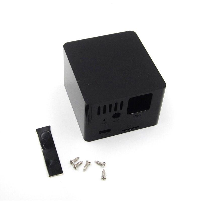 1 pièces ABS coque en plastique boîtier de refroidissement pour Orange Pi zéro et carte dextension noir