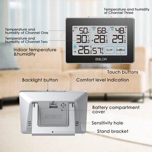 Image 5 - Baldr CD ميزان الحرارة مقياس الحرارة محطة الطقس تستر 3 اللاسلكية في الهواء الطلق الارسال الرطوبة الاستشعار رصد