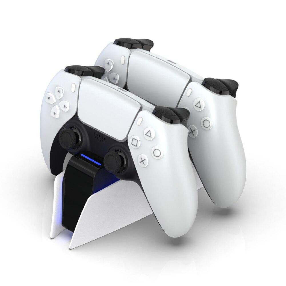 Зарядная Станция PS5 Type C DualSense, зарядная док станция с двойной зарядкой, подставка для беспроводного игрового контроллера PlayStation 5 DualSense Зарядные устройства      АлиЭкспресс