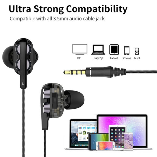 Candy colors Wired Headphones Bass Stereo Earbuds Sports Waterproof Earphone Music Headsets for Samsung iphone for Xiaomi Huawei 3