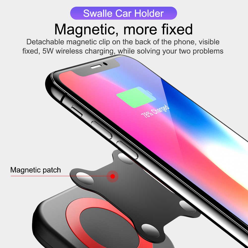 Swalle 磁気電話ホルダー 11 XR サムスン車の Gps エアベントマウントマグネットスタンド自動車電話ホルダー注 8 Huawei 社