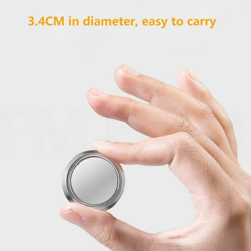 Luxury Metal Mobile Phone Socket Holder Universal 360 Degree