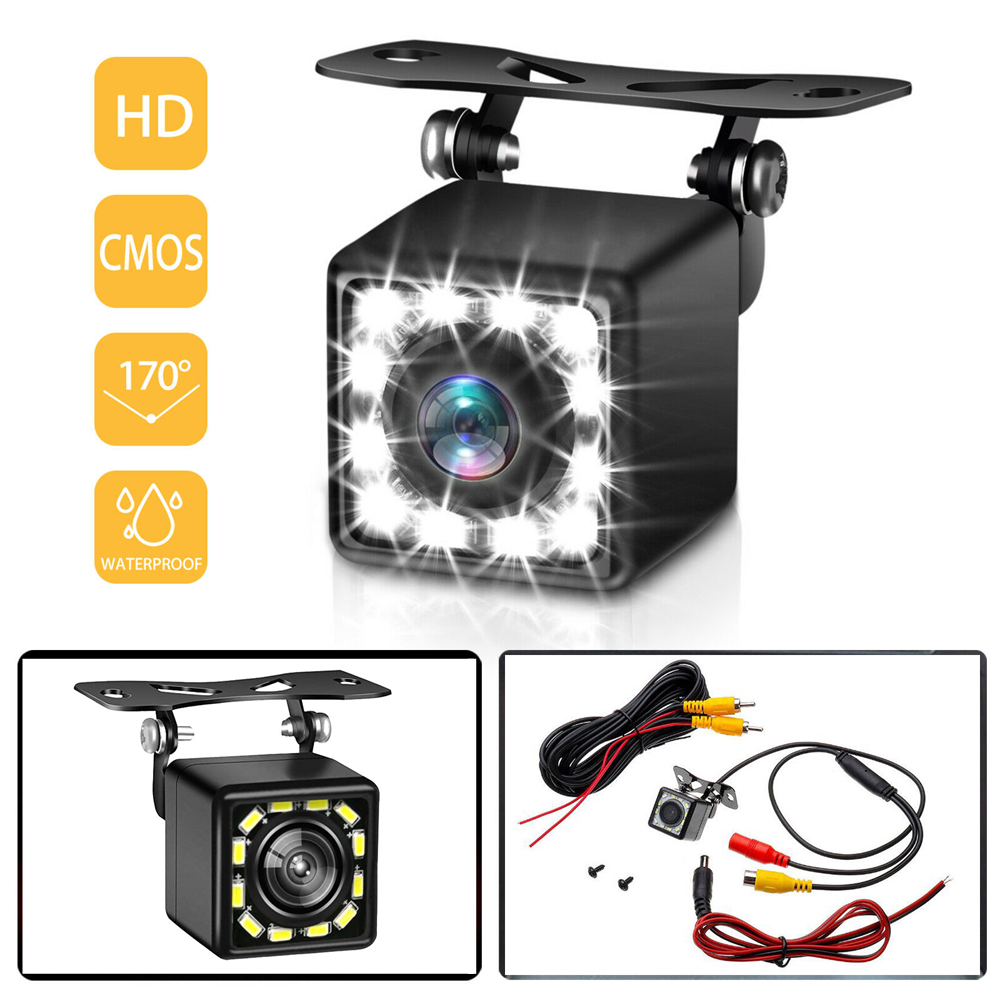 cheapest AZDOME 720P Car Rear View Camera For PG12 Auto Video Recorder Waterproof Vehicle Backup Cameras