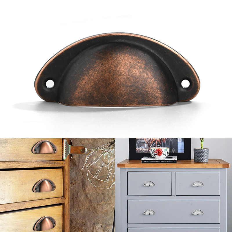Shell Shape Furniture Door Handle Wardrobe Pulls Cabinet Pulls Drawer Knob