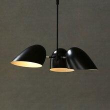 Modern Industrial Iron Pendant Lights LED Iron Hanging Lamp Nordic Pendant Lamp Living Room Bedroom Dining Room Loft Lighting стоимость