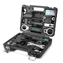 Profesjonalne narzędzia do naprawy roweru 18 w 1 kolarstwo Multitool Chain pedał BB klucz klucz sześciokątny zestaw narzędzi rowerowych zestaw pudełek Bike Repair Kit