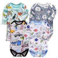 0-2 jaar jumpsuit voor Pasgeboren Baby Romper lange Mouw Top Kwaliteit Katoen peuter Baby Jongens Kleding overalls kinderen 1