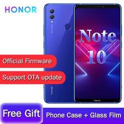 Оригинальный huawei Honor Note 10 Kirin 970 Восьмиядерный игровой смартфон 6,95 дюймов 5000 мАч аккумулятор Android 8,1 сканер отпечатков пальцев NFC