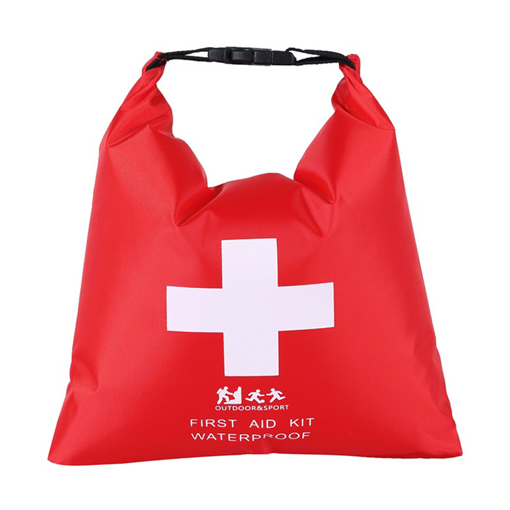 1.2L Outdoor River Trekking Storage Bag Rafting Adventure First Aid Supplies  Portable Rubber Waterproof Dry Bag