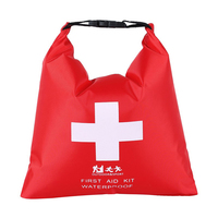 1.2L Outdoor River Trekking Storage Bag Rafting Adventure First Aid Supplies  Portable Rubber Waterproof Dry Bag|Sport Bags Covers| |  -