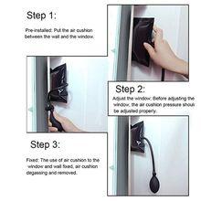Load 200 KG Air Pump Wedge Alignment Tool Shim Bag for Elevating Doors Windows  H7ED