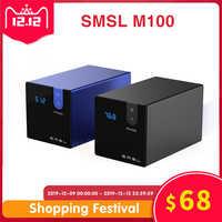 SMSL M100 Audio DAC USB AK4452 Hifi dac Decoder DSD512 Spdif USB DAC Amp XMOS XU208 Digital Verstärker Optische Koaxial eingang