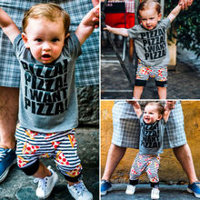 Summer Newest Fashion Newborn Baby Boy Clothes Cotton Letters Tops T-Shirt Camouflage Pants 2Pcs Outfits