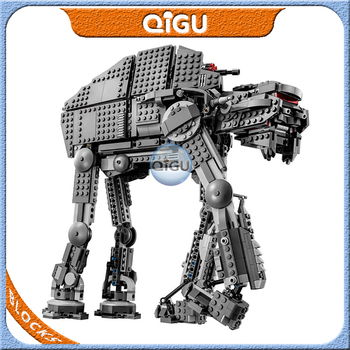 Compatible 75189 Lepingo Star Plan Wars AT-ST Robot Starwars First Order Heavy Assault Walker Building Block Brick Children Toys