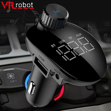 Mp3-Player Fm-Transmitter Car-Stereo Bluetooth Adapter-Support Wireless Handsfree Usb-Disk/tf-Card