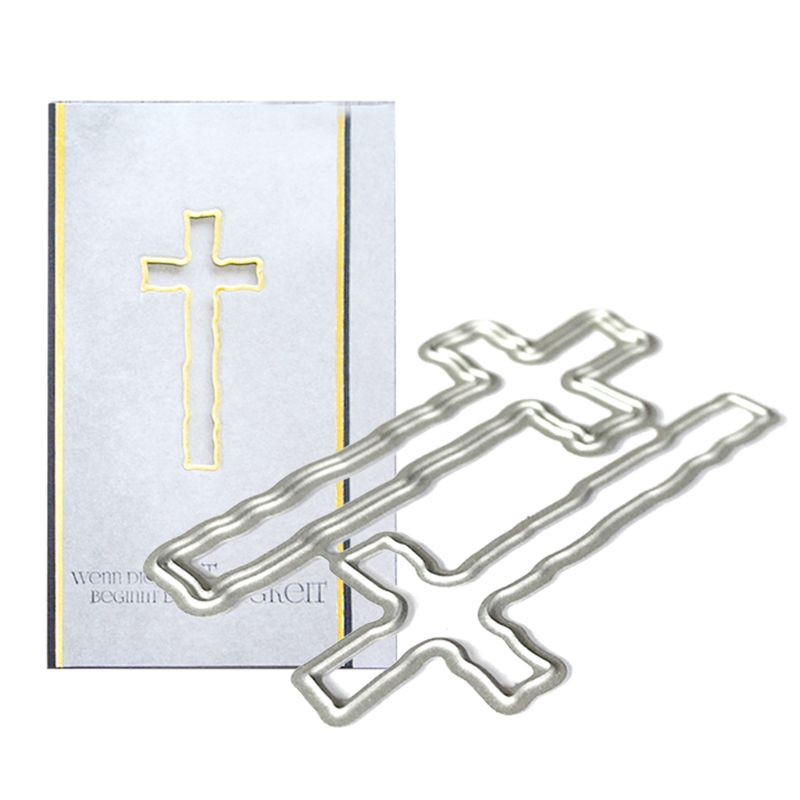 Easter Holy Cross Cutting Dies Stencil Scrapbooking Craft Embossing Paper Card