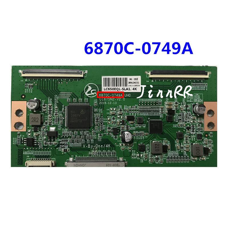 6870C-0749A 2K 4K хорошая тестовая логическая плата Оригинал 6870C-0749A экран LC650EQL-SLA1 6870C-0749A