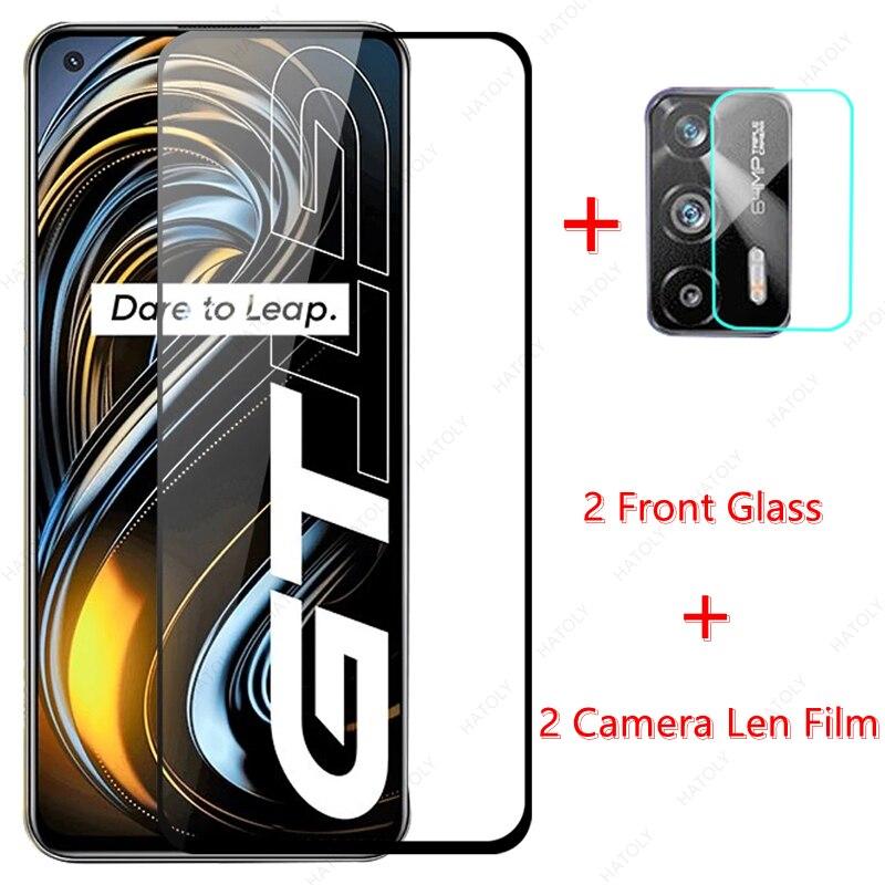 Для Realme GT 5G Стекло для Realme GT 5G закаленное Стекло Экран протектор Камера Len плёнки для Realme Narzo 30 7 8 Pro 5G C21 C15