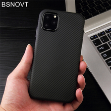 For iPhone 11 Pro Max Case Soft TPU Silicone Silm Anti-knock Cover 6.5 BSNOVT