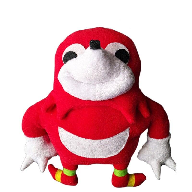 25cm  Game Sonic Ugandan Knuckles Stuffed Plush Toy