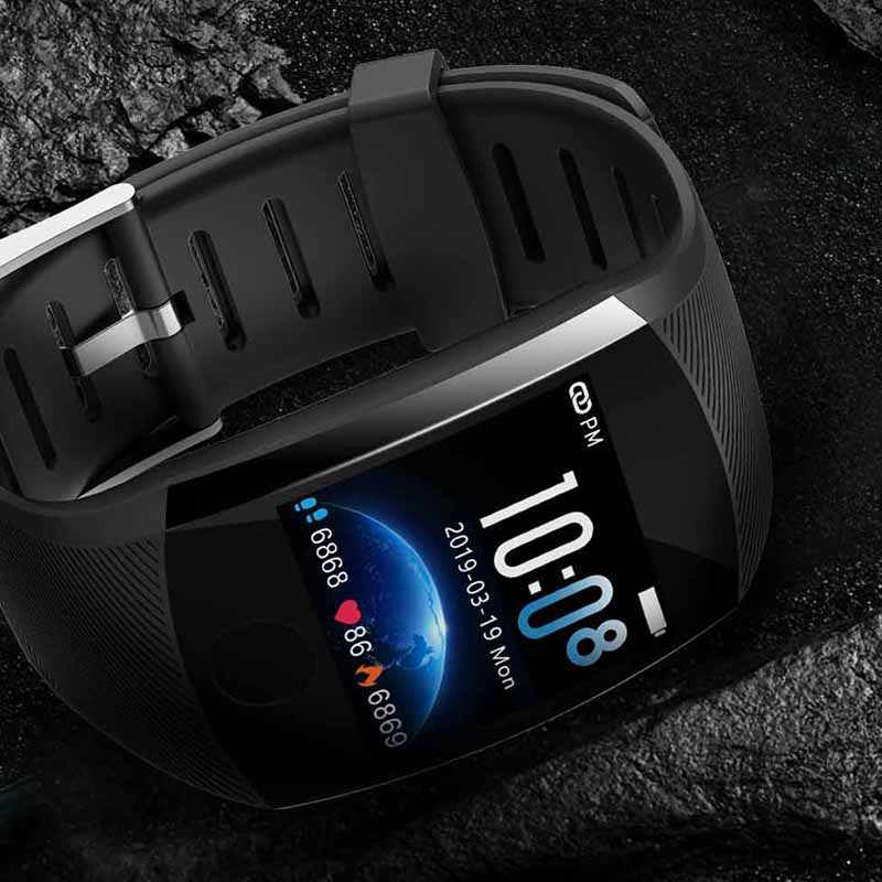 ساعة ذكية جديدة 1.3TFT شاشة كبيرة ساعة ذكية es معدل ضربات القلب ضغط الدم الصحة رصد مقاوم للماء الرياضة Smartwatch الرجال النساء
