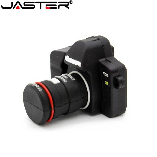 JASTER חם SLR מצלמה USB דיסק און קי מצלמה Pendrive cartoon usb מקל מיני עט כונן 64gb 32gb 16gb זיכרון מקל משלוח חינם