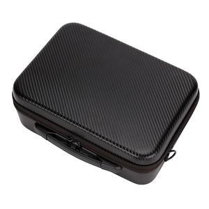 Image 4 - Hot 3C Storage Bag for DJI Mavic 2 Pro Zoom Drone Carrying Case PU Shoulder Bag for Handbag Protective Bag Backpack Drone Box Pa