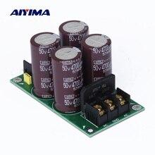 AIYIMA усилитель один мост выпрямитель фильтр мощность доска высокой мощности 4700 мкФ/50 в Питание плата питания для усилителя аудио DIY