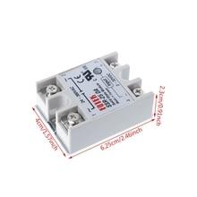 цена на Solid State Relay Module SSR-25DA 25A 250V 3-32V DC Input 24-380VAC Output