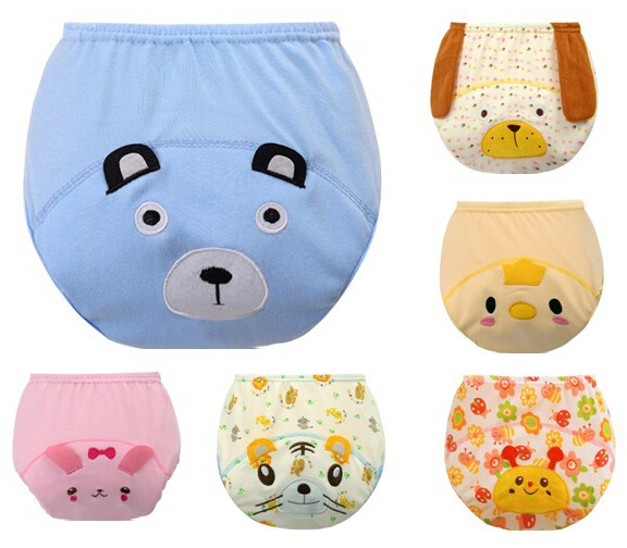 New Arrive Baby Diapers Child Training Pants Baby Cloth Underwear Washable Reusable Nappy Cover QD07