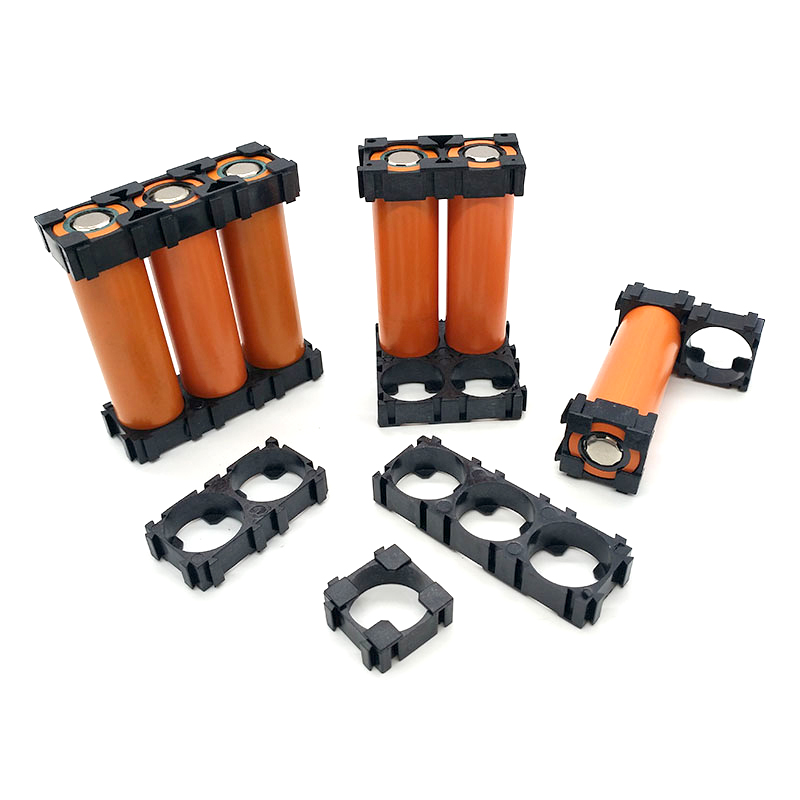 10pcs <font><b>18650</b></font> Lithium <font><b>Battery</b></font> <font><b>Holder</b></font> Storage Box <font><b>Bracket</b></font> Cell <font><b>Cylindrical</b></font> <font><b>18650</b></font> Li-ion <font><b>batteries</b></font> Pack Plastic Case Assembly Module image