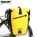 Rhinowalk 27L Водонепроницаемая велосипедная сумка MTB для шоссейного велосипеда  велосипедная задняя стойка  сумка Pannier  велосипедная Задняя сумк...